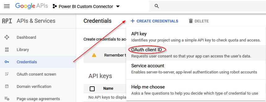 Add Credentials 2